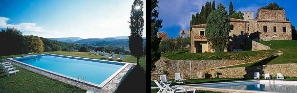 Castello Di Modanella - Swimming Pool